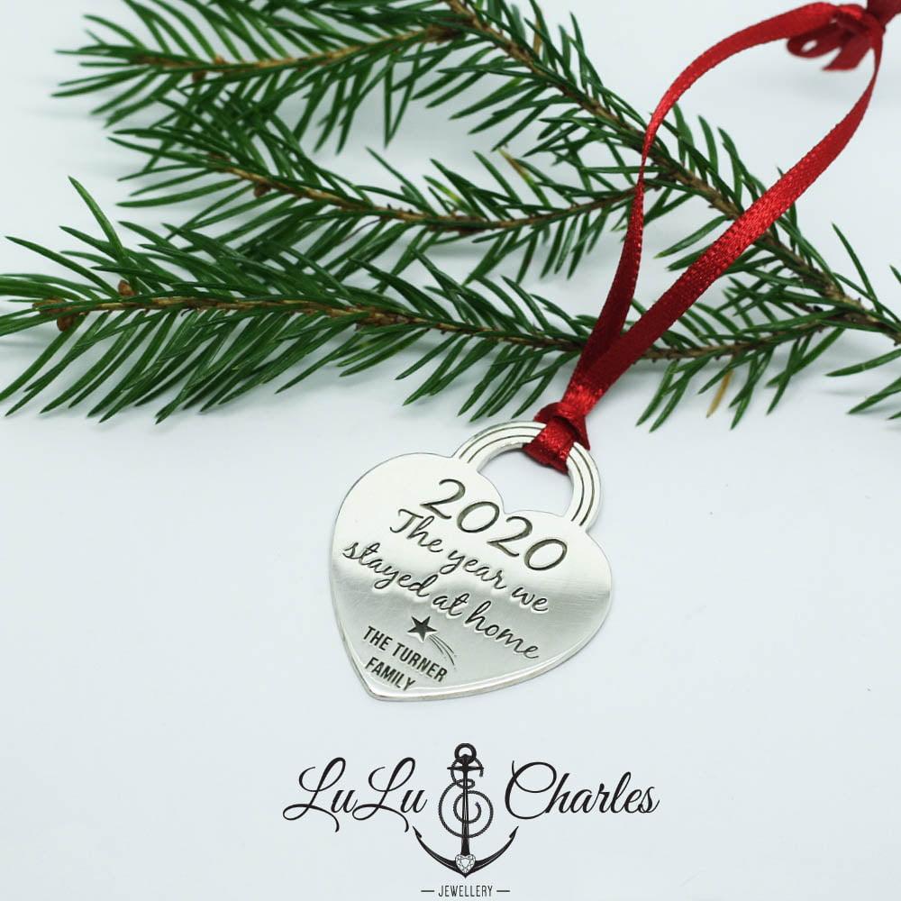 Handmade-Sterling-Silver-2020-Personalised-Christmas-Bauble-UK