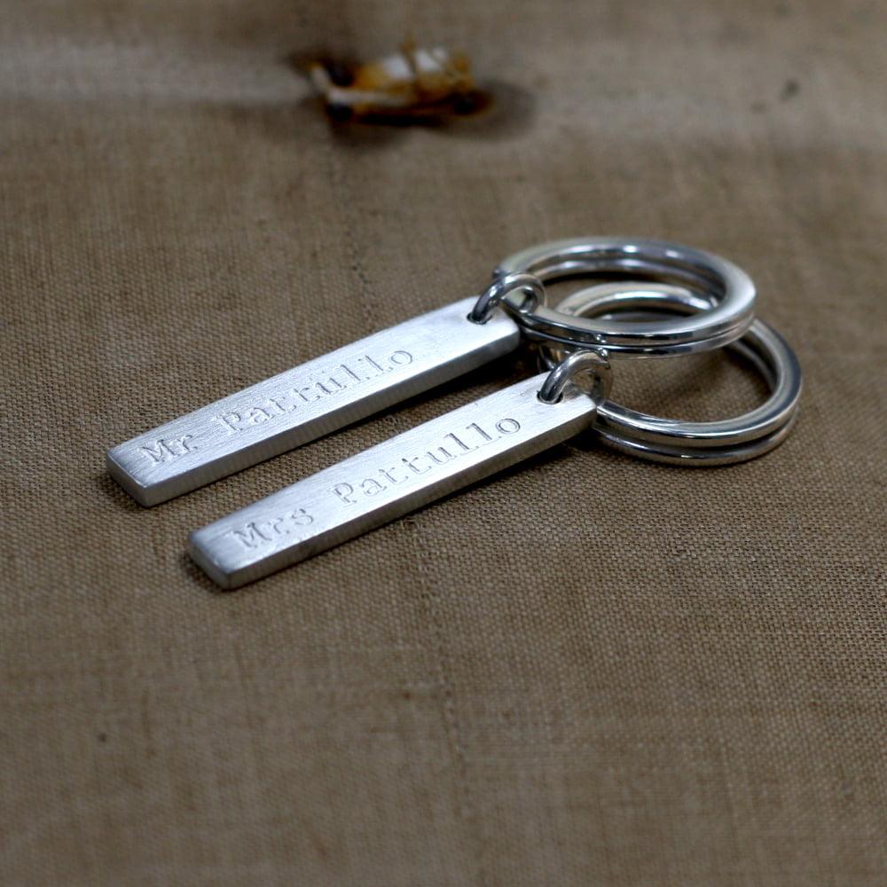 Handmade Silver Keyring