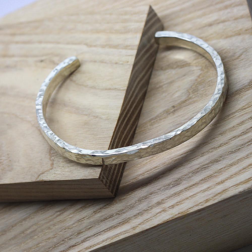 Handmade Silver Bangles