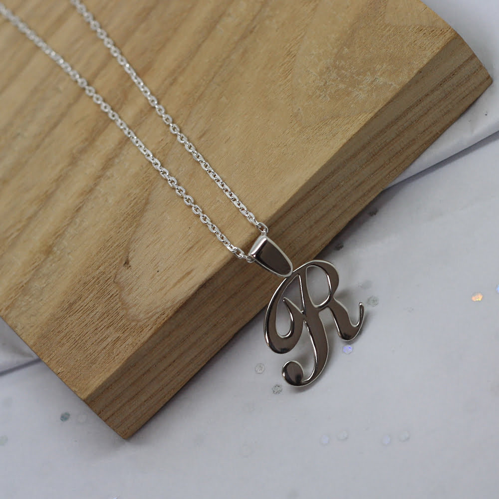 Handmade Sterling Silver Bespoke Initial Necklace