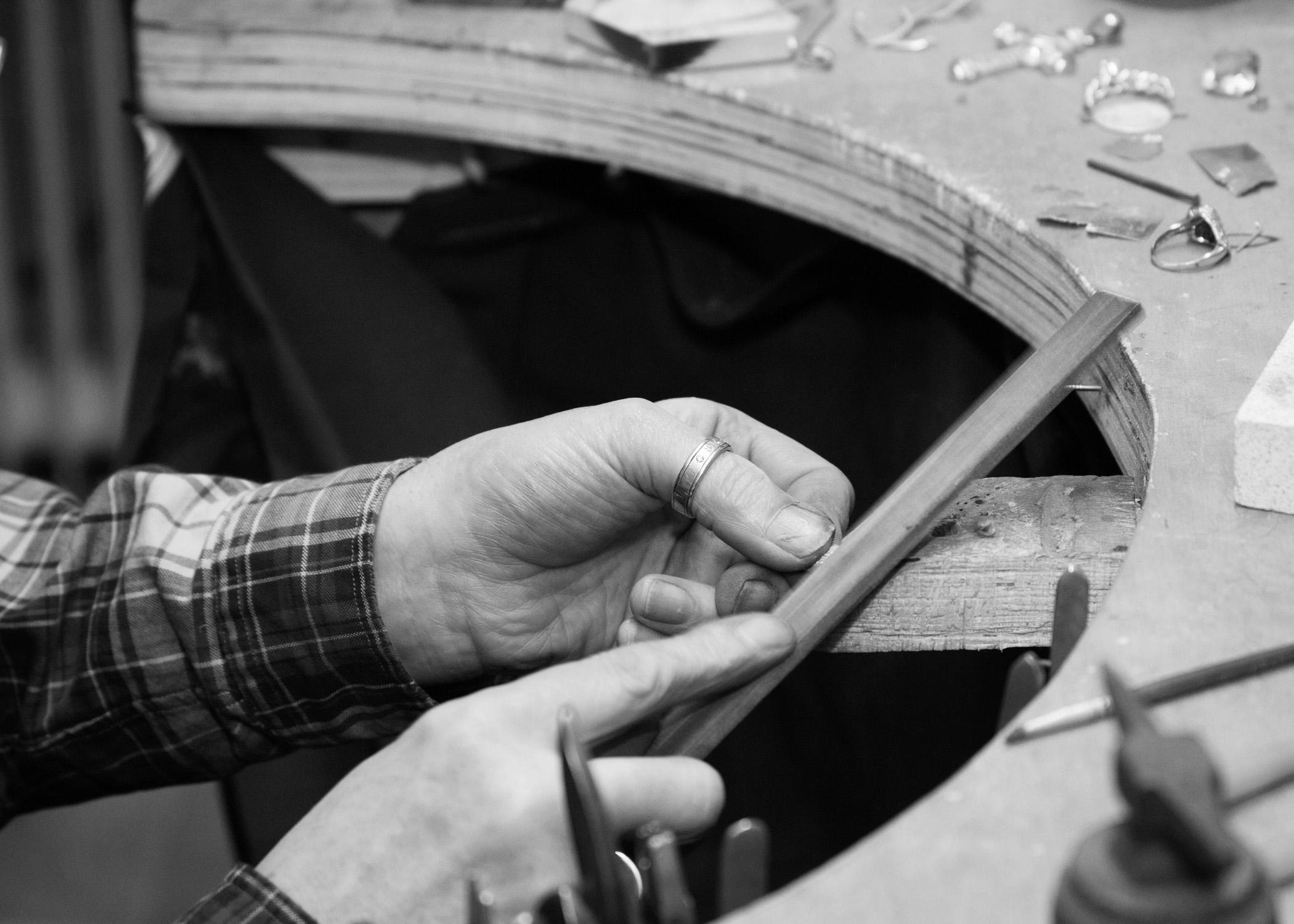 LuLu & Charles Jewellery workshop based in County Durham, uk