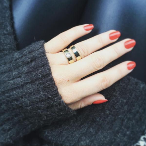 Handmade Double Band Ring, Handmade Engagement/Wedding Ring By LuLu & Charles Jewellery.