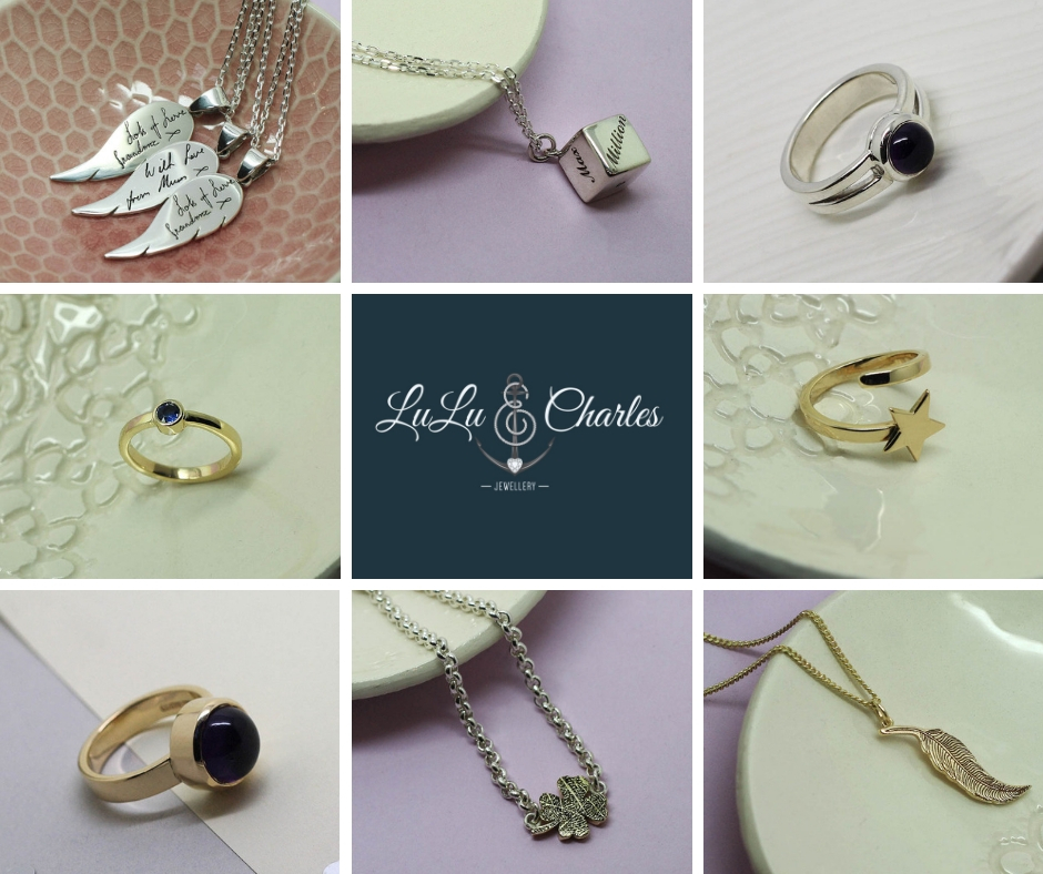 Handmade-sterling-silver-gold-memorial-jewellery-containing-cremation-ashes-county-durham-newcastle-uk