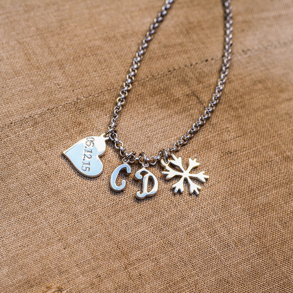 Handmade Sterling Silver Charms by LuLu & Charles Jewellery county durham uk
