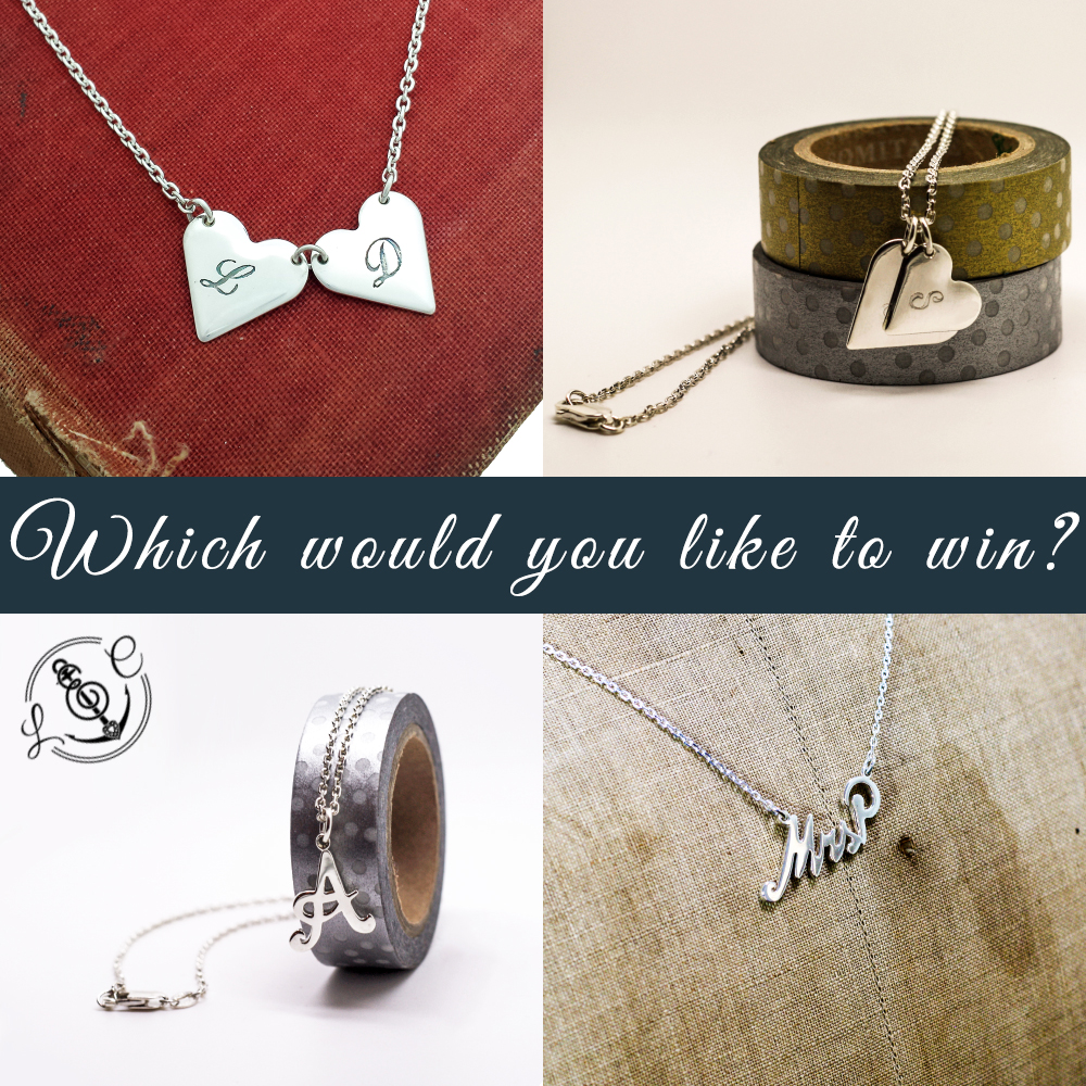 Handmade-Personalised-Silver-Necklace-Giveaway