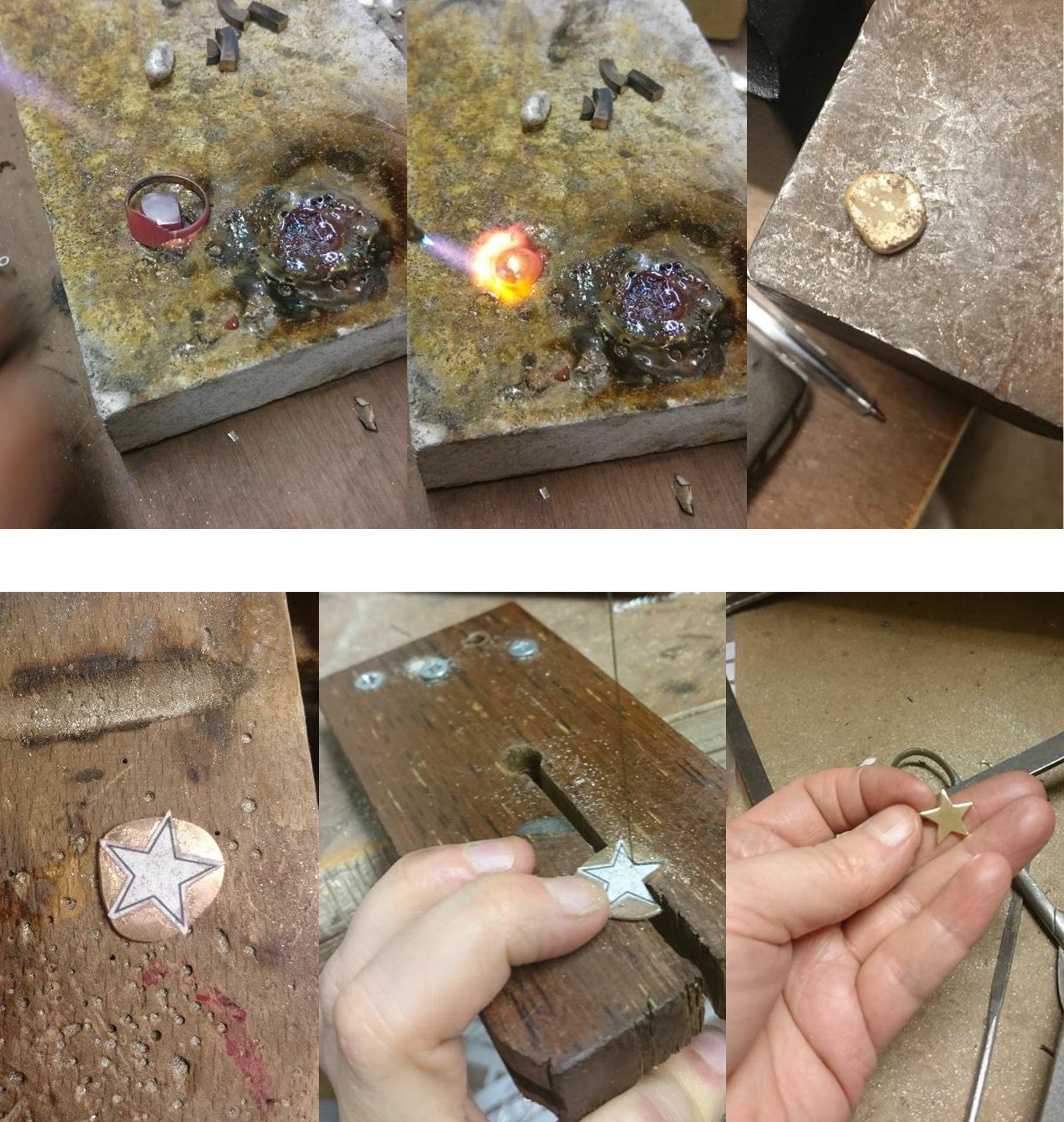 Handmade Bespoke Jewellery by LuLu & Charles Jewellery, Handmade Jewellery UK, using customers old gold.