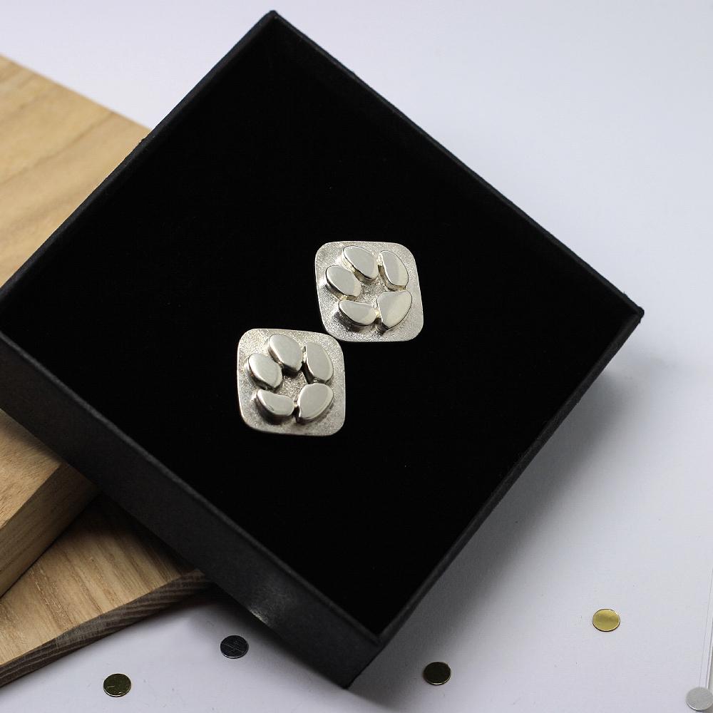 Handmade Sterling Silver Personalised Pet memorial jewellery by lulu and charles jewellery uk